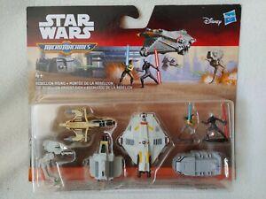 Micromachines Star wars Rebellion Rising Hasbro Micro Machines