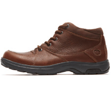 Mens Dunham 8006 Extremely Wide Hiking Boots Brown 6E Fitting - UK 8.5