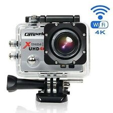 Campark 4K UHD Digital Action Camera WiFi 20MP Sports Cam Kit - Great Condition