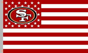 San Francisco 49ers Football Star&Strip Team Fan Flag 90x150cm3x5ft best banner