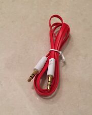3.5mm GOLD Jack Plug To Plug Male Cable 1.0M Audio Lead iPhone iPod Car Aux