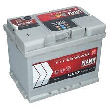 Autobatterie 12V 60Ah 540A EN +Pol links FIAMM PRO Batterie ersetzt 55 56 62 Ah