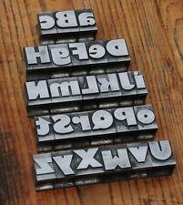 A-Z mix Bleischrift 27mm Bleialphabet Buchstaben Letter Stempel Bleistempel Blei