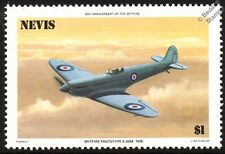 RAF Supermarine SPITFIRE Prototype K5054 Aircraft Stamp (1986 Nevis)