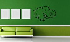 Wall Stickers Vinyl Decal Hippo Animals for Children Nursery ig1369