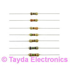 100 x 75 Ohms OHM 1/4W 5% Carbon Film Resistor - FREE SHIPPING