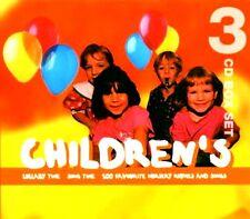 CHILDREN + BABIES BRAND NEW SEALED 3CD SET OF LULLABIES,NURSERY RHYMES & SONGS