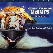 McHALE'S NAVY WS CC LASERDISC Tom Arnold, Dean Stockwell, Ernest Borgnine