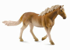 CollectA 88310 Chestnut Haflinger Mare Toy Horse Model Replica - NIP