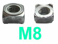 M8 Square Weld Nuts - 8mm Square Weldnuts x50