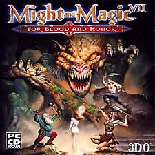 Might and Magic VII: For Blood and Honor  (PC, 1999)+ strategy Guide, andVIII CD