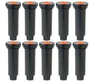 New Rain Bird 1800 Series Pop Up Irrigation Lawn Sprinklers 10 Pack