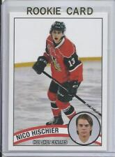 2016 Nico Hischier Hot Shot Prospects Minor League Rookie Card RC Mint