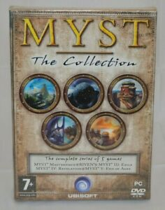 Myst : The Collection PC DVD ROM **NEW SEALED PACKING**
