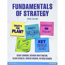 Fundamentals of Strategy, Good Condition Book, Angwin, Duncan, Regnér, Patrick,
