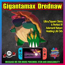 Gigantamax DREDNAW  ✨ 6IV ✨ Square/Ultra Shiny ✨ Pokemon Sword and Shield