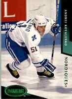 1993-94 Parkhurst Emerald Ice Andrei Kovalenko #167