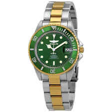 Invicta Pro Diver Automatic Green Dial Two-tone Men's Watch 28661