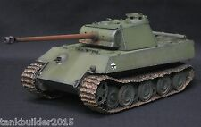 DRAGON PzV Ausf G PANTHER LATE TYPE PRO BUILT AND PAINTED 1/35  TAMIYA ITALERI