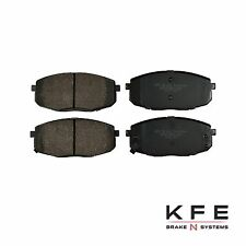 Premium Ceramic Disc Brake Pad FRONT New Set Plus Shims Fits Hyundai KIA KFE1397