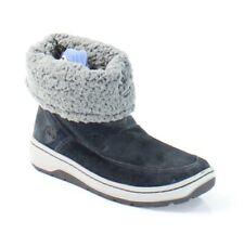 Timberland NEW Black Shoes US Size 3M Pull-On Snow Winter Suede Boots $70- #222