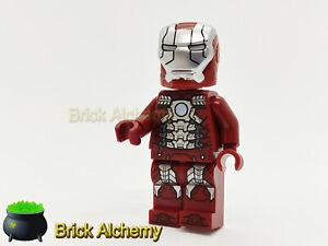 Genuine LEGO Marvel Avenger's Minifigure - Iron Man MK 5 Armor - from set 76125