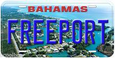 Freeport Bahamas Aluminum Novelty Car License Plate P01