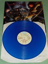 MOTORHEAD Motörhead BOMBER 1st UK PRESS BLUE VINYL LP Signed By LEMMY AUTOGRAPH