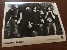 From First To Last promo press Photo 8X10 Epitaph Records