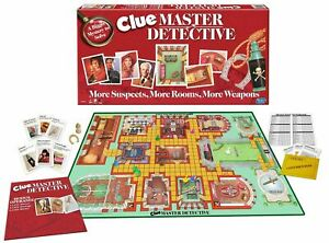 1988 Clue Master Detective Game Replacement Game Pieces - You Pick