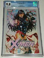 Astonishing X-Men #1 Mark Brooks Variant CGC 9.8 NM/MT White Pages Marvel 2017