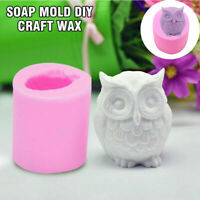 Heart/&Flower Shape New Soap Mould Candle Mold 3D Craft Handmade Silicone DIY
