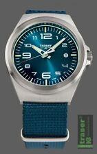 Traser H3 Traser P59 Essential M Blue Nato Herrenuhr 108216 Analog  Textil Blau