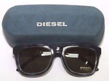Mens Diesel DL0050 col.55a Blue/Silver Sunglasses NWOT 52-19-140