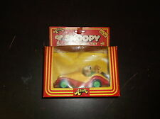 1975 AVIVA SNOOPY SPORTS CAR DIECAST METAL TOY CAR IN ORIGINAL BOX NIB