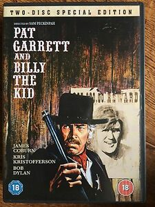 Pat Garrett and Billy the Kid DVD 1973 Western Classic 2-Disc Special Edition