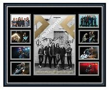 FOO FIGHTERS CONCRETE AND GOLD 2018 SIGNED LIMITED EDITION FRAMED MEMORABILIA