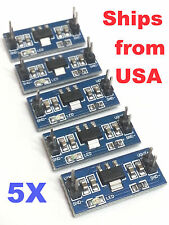 5PCS AMS1117 5V Step Down Voltage Regulator PCB Breakout Arduiono Ships from USA