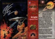 1993 Bob Eggleton SIGNED Star Trek Master Series Art Card TOS USS Enterprise