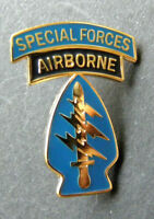 Us Army Airborne Special Forces Airborne Lapel Pin Badge 1 inch