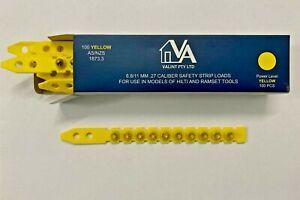 Ramset Hilti Power & GFS Nail Gun .27 cal  Yellow Strip Charges 100/Box