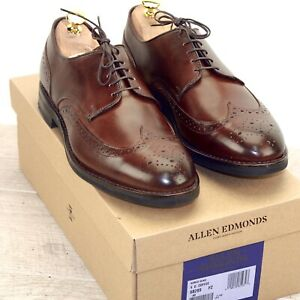 * NIB * $375 Allen Edmonds NOMAD WING 9 D Coffee * new Shoe Trees AE Bags t