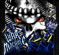 "YAMAHA 2009-2013 FITS YFZ450X / YFZ450R GRAPHICS WRAP DECAL KIT ""WAR MACHINE"""