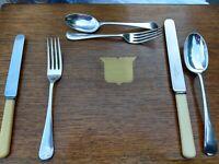 Custom Order Best Antique Heavy Quality English Cutlery 6/12/18/24+ sets READ