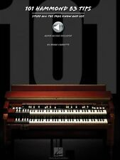 101 Hammond B-3 Tips - Stuff All the Pros Know and Use Piano Instructi 000128918