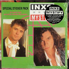"Inxs, Mystify, NEW/MINT UK 7 inch vinyl single in special ""Sticker Pack"""