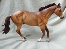 Breyer Horse Statue OOAK CM/Custom Quarter Horse Harley/Latigo Dappled Dun