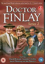 DR DOCTOR FINLAY SERIES 2 - STARRING DAVID RINTOUL JASON FLEMYNG - 3 DVD BOX SET
