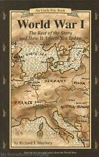 NEW Uncle Eric Book WORLD WAR I The Rest of the Story Maybury Bluestocking Press