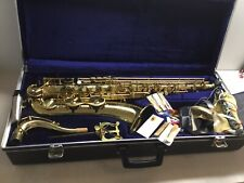 Saxophon Amati Kraslice ATS62 Incl. Koffer & Zubehör L=82x35x19cm Koffer Top!!